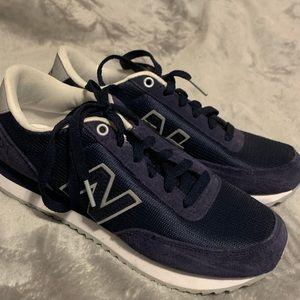 Navy New Balances